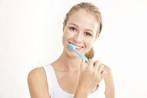 cleveland brushing teeth